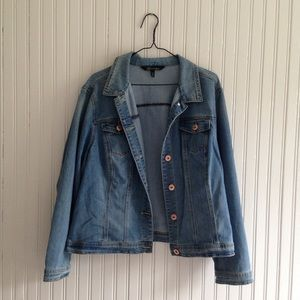 Baccini | Jean Jacket light wash 18W